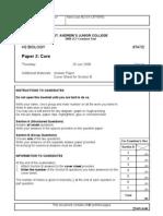 2008 H2 JC1 CT - Paper 2 (Core)