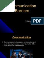 Communication Barrier I