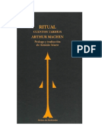 Machen Arthur - Ritual - Cuentos Tardios