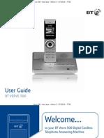 BT Verve 500 User Guide