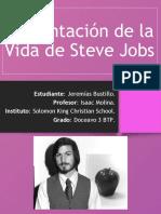 Presentación de La Vida de Steve Jobs