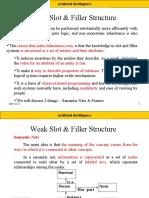 Weak Slot & Filler Structure Chap 9