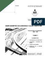 Diseño Geometrico de Carreteras y Calles AASTHO-1994