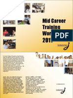 Mid Career Training Workshops 2011