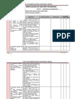 Lista de Verificación-auditoria gricol
