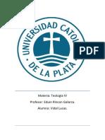 TP Teologia IV