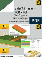 Largura de Trilhas em PCB- Curso de Eletronica Facil