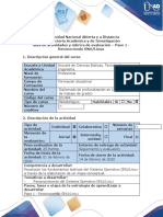 Guía de actividades y rúbrica de evaluación - Paso 1 - Reconociendo GNU Linux .docx