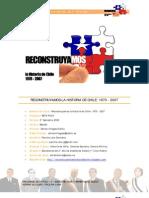 Reconstruyamos la Historia de Chile - Contenidos