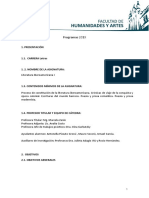 Literatura Iberoamericana I