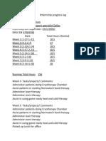 Internship progress log(2).docx