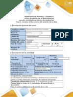 Guía de actividades y rúbrica de evaluación - Fase 2 -