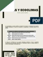 BIOMAS Y ECOCLIMAS