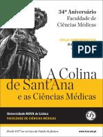 A colina de Santana e as Ciências Médicas