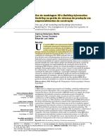 Uso de modelagem 4D e Building Information Modeling na gestão de sistemas de produção em empreendimentos de construção
