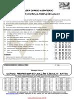 Professor de Artes - Pref. Itaí SP Consesp