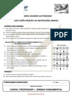 Professor I - Ensino Fundamental CONSESP 2011