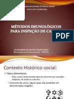 M+®todos imunol+¦gicos para diferencia+º+úo de carnes