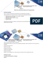Anexo 1  Paso 2 - Identificar las estructuras básicas de programación.