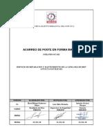 ACARREO DE POSTES MANUAL