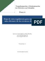 3. Hoja de ruta regulatoria para un desarrollo más eficiente de los recursos distribuidos