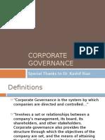 Corporate governance slides KR-1