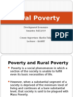 Rural Poverty