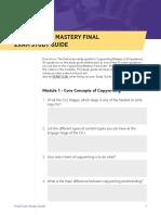 Copywriting - Study Guide