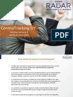 Coronatracking-uy de Grupo Radar - Semana 4