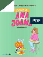 Guião de Leitura Orientada - Diário de Ana Joana 13 Anos