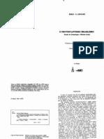 Émile G. Leonard. O protestantismo brasileiro, Estudo de eclesiologia e história social. Rio de Janeiro e São Paulo, juerpASTE, 1981. (1)