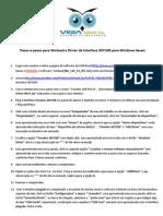 Manual de instalação e configuração do Winload SEVEN