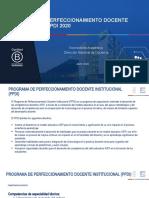 Presentación PPDI 2020