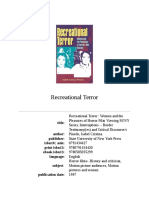 Recreational Terror Women and the Pleasures of Horror Film Viewing by Isabel Cristina Pinedo (z-lib.org).epub