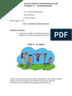 GUIA N°  1   EDUCACION FISICA  ACELERACION