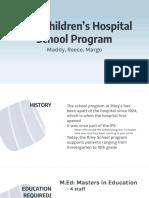 rileys hospital school