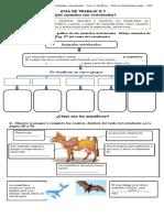 Guía N° 3 Qué animales son vertebrados