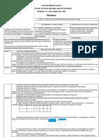 Planeaciòn de Matemàticas 20 - 30 de abril 2020