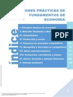 Cuestiones prácticas de fundamentos de economía. Capítulo 1