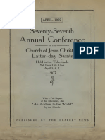 LDS general conference report talks from 1907
