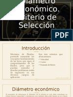 SIETMAS E INST, HID.2.2Diámetro Económico-1.pptx