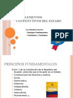 LOS ELEMENTOS CONSTITUTIVOS DEL ESTADO
