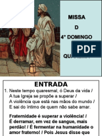Misisa do 4° Domingo da Quaresma - Cópia.ppt