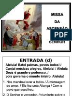 Missa de Ascensão do Senhor.ppt
