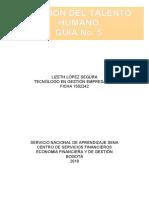 Guía No. 5 - GESTIÓN DEL TALENTO HUMANO.docx