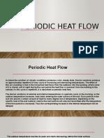 Periodic heat flow