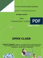 Open Class 1. Comunicación y Conducta.pptx