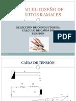 UNIDAD III_CAIDA_DE_TENSIÓN