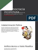 La democracia inconclusa completa