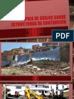 1. EMPUJE DE SUELOS SOBRE ESTRUCTURAS DE CONTENCIÓN (E1)